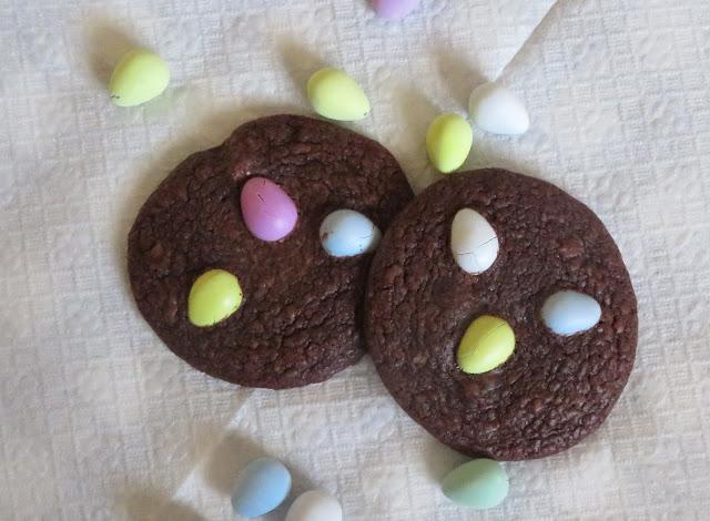 Easter Egg Brownie Cookies