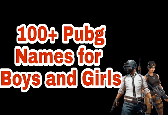 100+ Latest PUBG Names For Boys and Girls in 2020 - Best Gaming Names