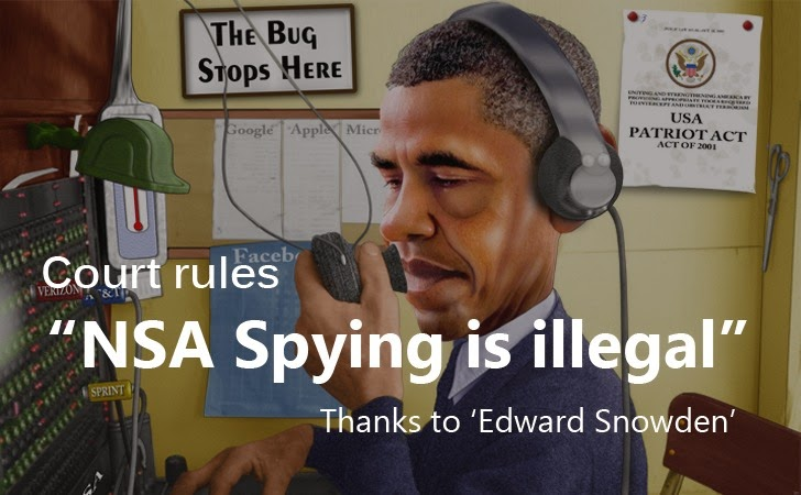 US Court Rules NSA Phone surveillance Program is illegal