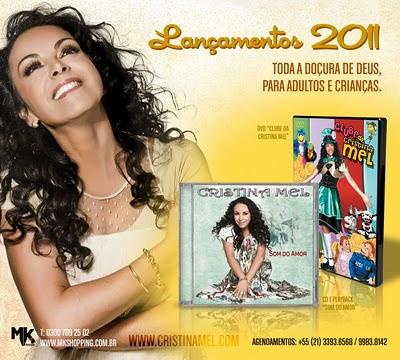cd cristina mel - falando de amor 2011