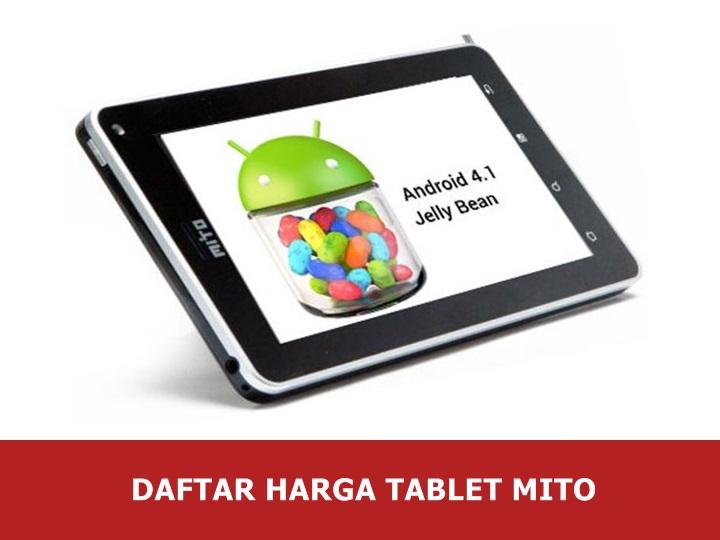 Daftar Harga Tablet Mito