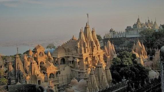Jain Temple in Palitana, Gujarat