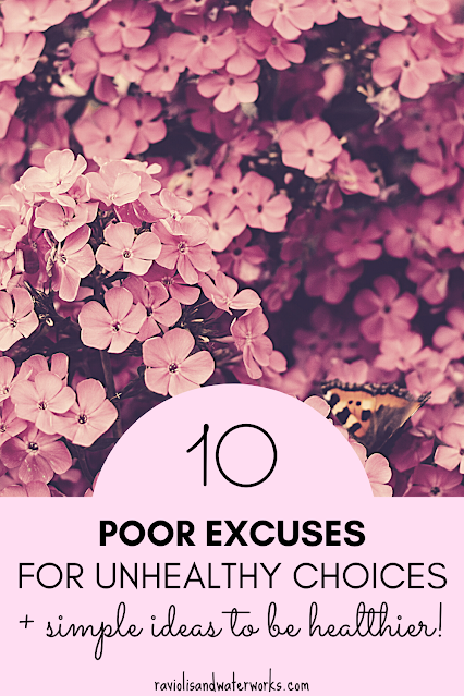 how to stop making excuses for being healthy