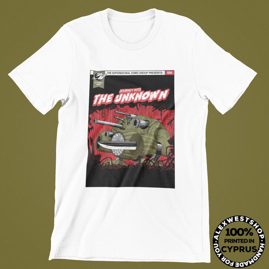 alien comic t shirt ufo et alexwestshop spreadshirt redbubble teepublic society6