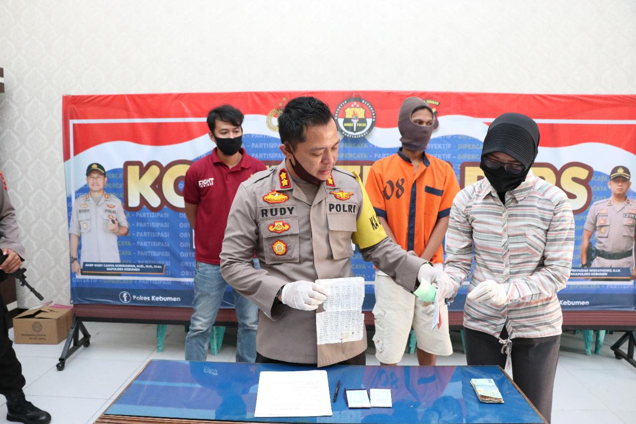 Polisi Kembali Bekuk Penjual Togel, Kali ini Warga Sidoharum Sempor