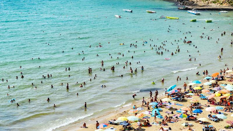 Ramla Bay beach, Malta