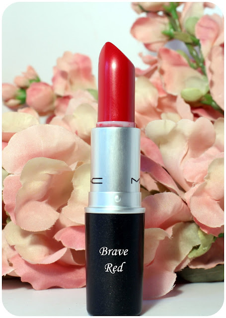 Mac's Brave Red Lipstick