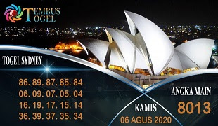 Prediksi Angka Sidney Kamis 06 Agustus 2020