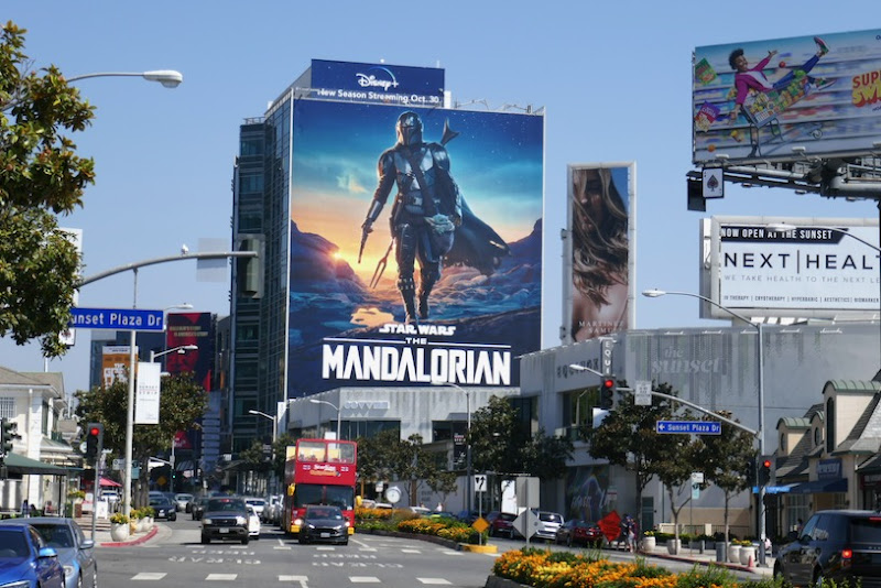 Mandalorian season 2 billboard