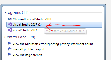 Around my world step by step guideline for installing visual studio fig 6 separate instance only with bi templates fbccfo Images