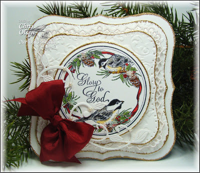 Our Daily Bread Designs, Chickadee Ornament, Chris Olsen