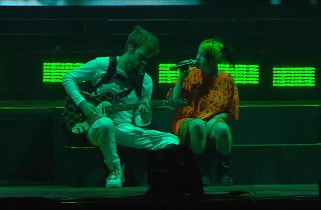 Veja o clipe ao vivo de Billie no Corona Capital