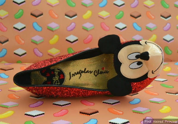 disney irregular choice branded insole