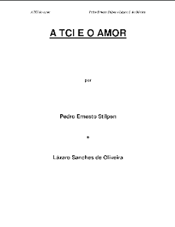 A TCI e o Amor (Pedro Ernesto Stilpen e Lázaro S. de Oliveira) pdf