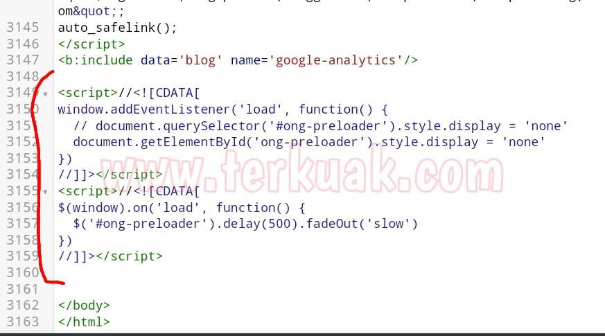 kode javascript efek preloading