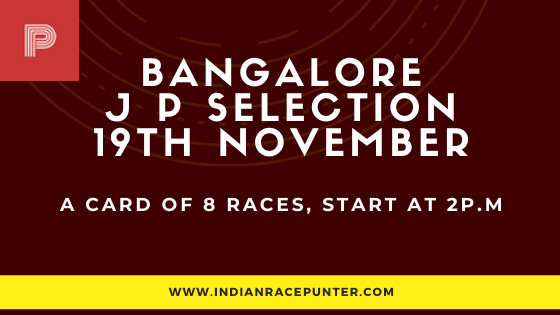 Bangalore Jackpot Selections 19 December