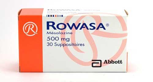 سعر ودواعى استعمال دواء روازا Rowasa اقراص لعلاج التهابات القولون