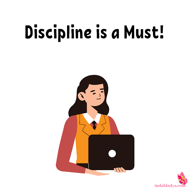 Terbiasa Disiplin