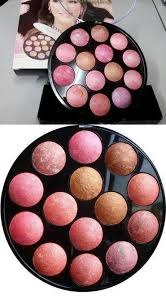 benefitlollitint, agent benefit, agent Kiss Beauty Baked Blusher 14 Colours, agent