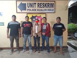 Unit Reskrim Polsek Kualuh Hulu Tangkap Satu (1) Orang Terduga Pelaku Penyalahgunaan Narkotika