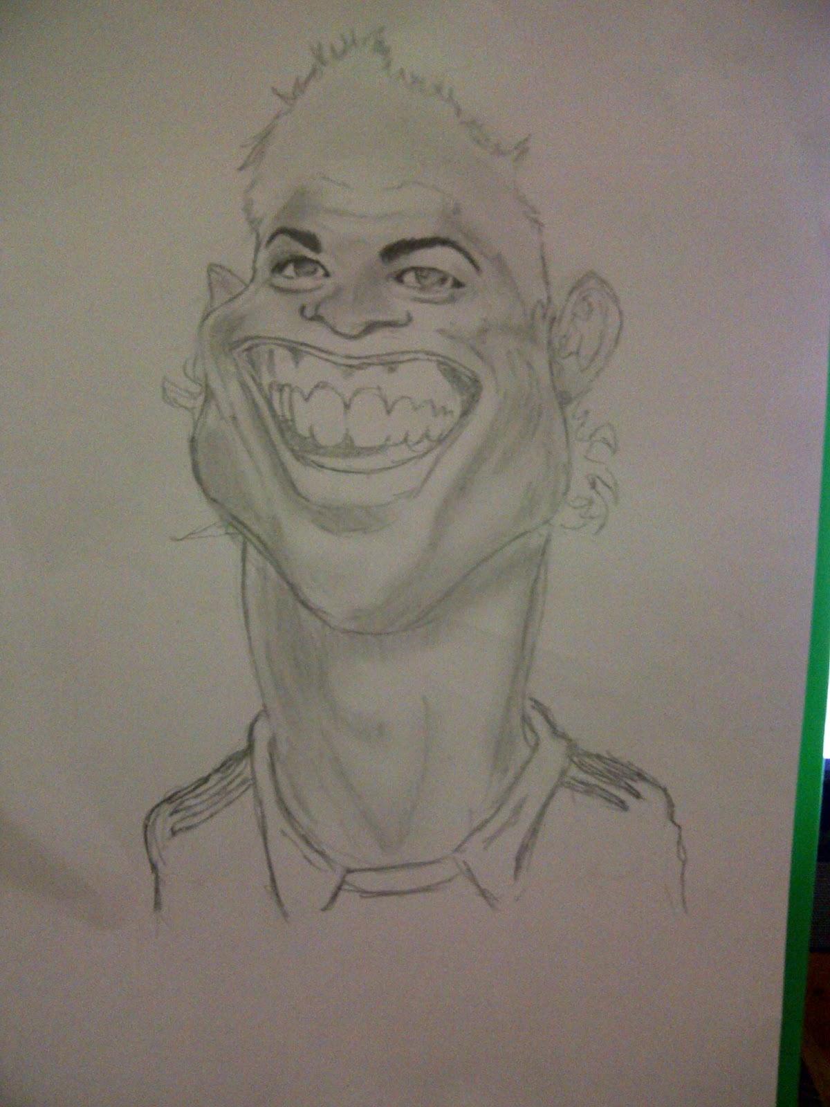 Gambar Kartun Keren Dari Pensil Top Lucu