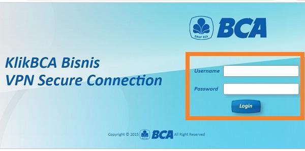 Cara Menggunakan VPN Tarumanagara di KlikBCA Bisnis 3