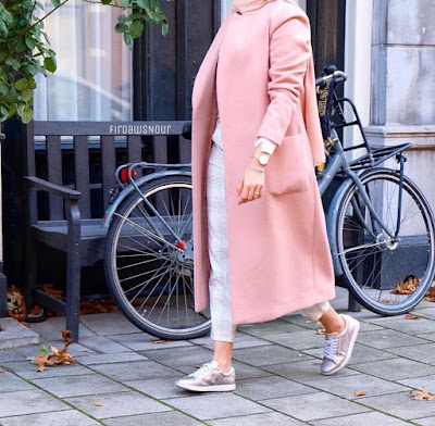 Hijab style spécial Hiver chic 2019