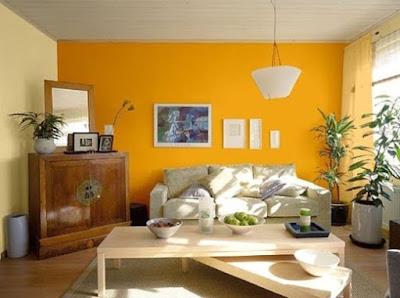 warna cat ruang tamu menurut feng shui terbaru