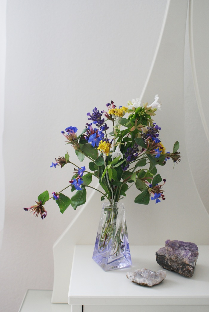 vase flowers diy interiors fiori