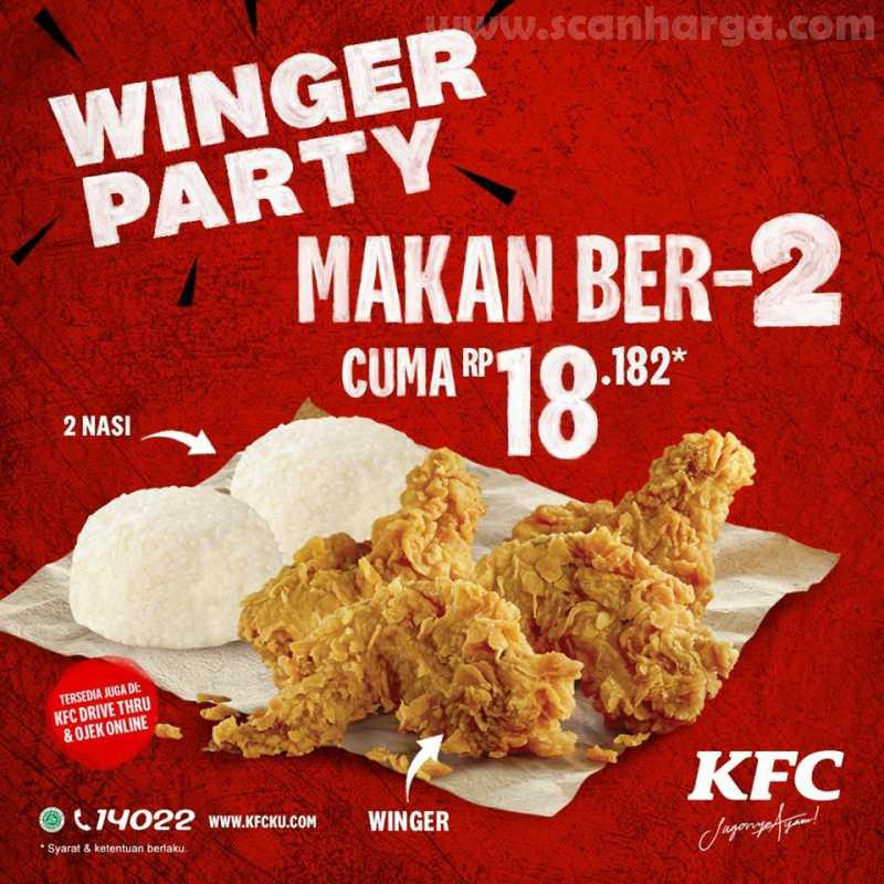 KFC Winger Party Berdua