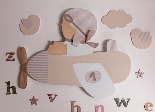 siluetas infantiles para decorar habitaciones infantiles