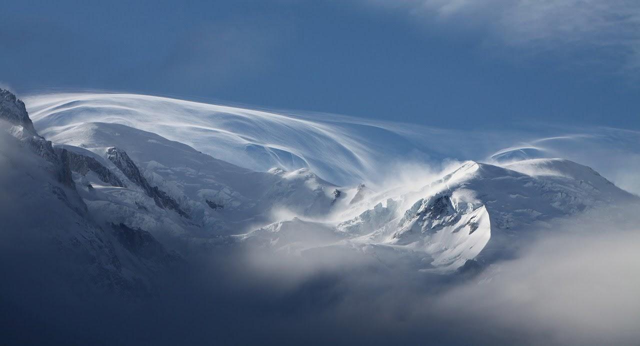 صورة قمم جبال الثلج - اجمل واحلى صور الطبيعة الجميلة والخلابة في العالم