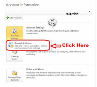 how to add gmail account to outlook 2010