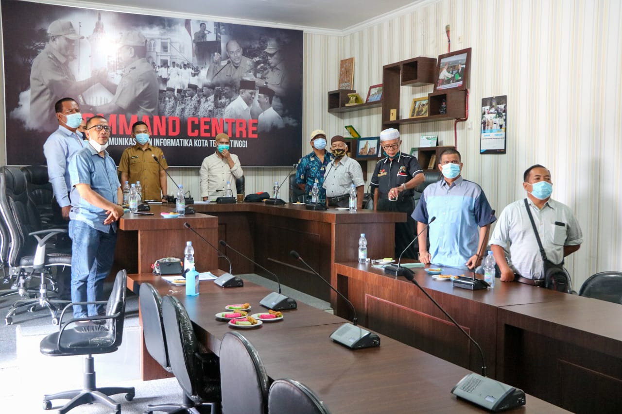PWI Kota Tebingtinggi Bersama Diskominfo Peringati HPN Secara Virtual Bersama Presiden Jokowi