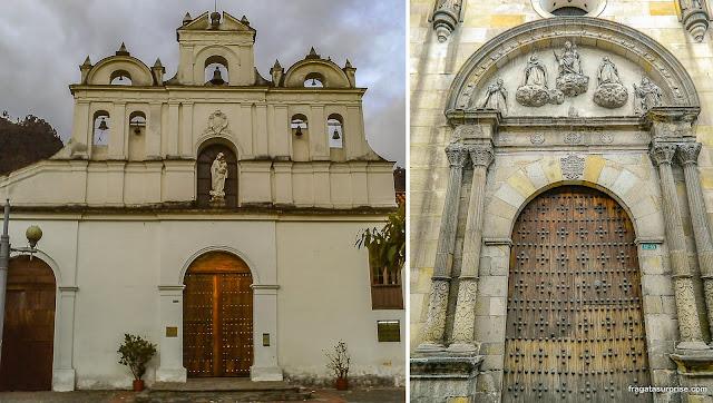 Igrejas de Bogotá: Las Águas e La Bordadita