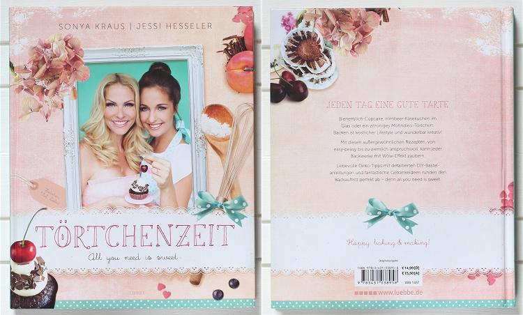 Rezension/Buchvorstellung Törtchenzeit von Jessi Hesseler und Sonya Kraus