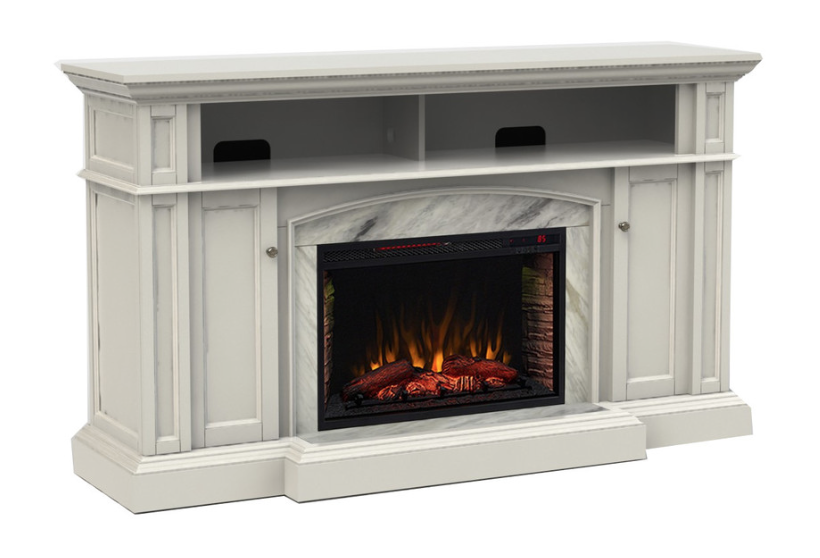 Fireplace from Scott Living from Lowe's.
