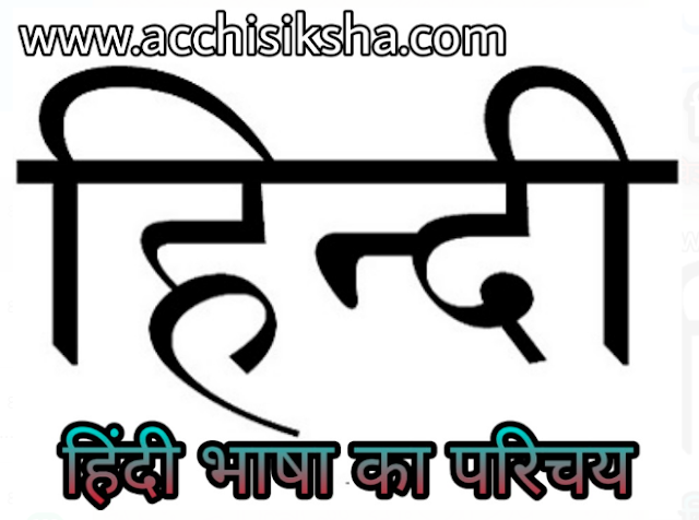 What Is Language In Hindi  - Bhasha Kya Hai Hindi Bhasha Ka Vikash by Acchisiksha