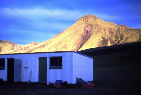 Iceland 1977: the hut at Krokur