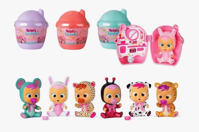Bebés llorones, casita Bibe de IMC Toys