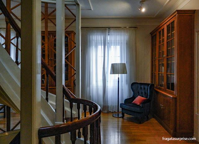 Biblioteca do Hotel Solar Cerca do Mosteiro