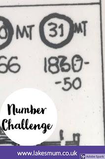 Number challenge week 3