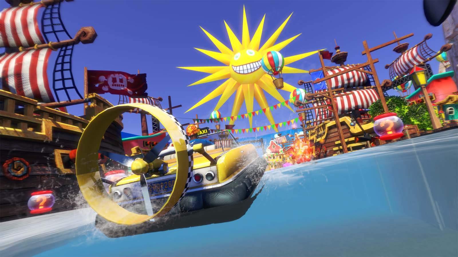 تحميل لعبة Sonic & All-Stars Racing Transformed مضغوطة برابط واحد مباشر + تورنت كاملة مجانا