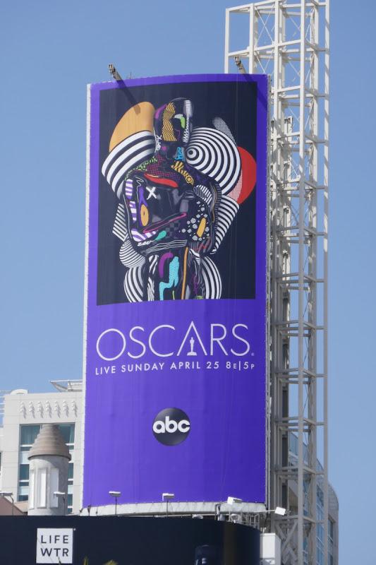 Oscars 2021 billboard