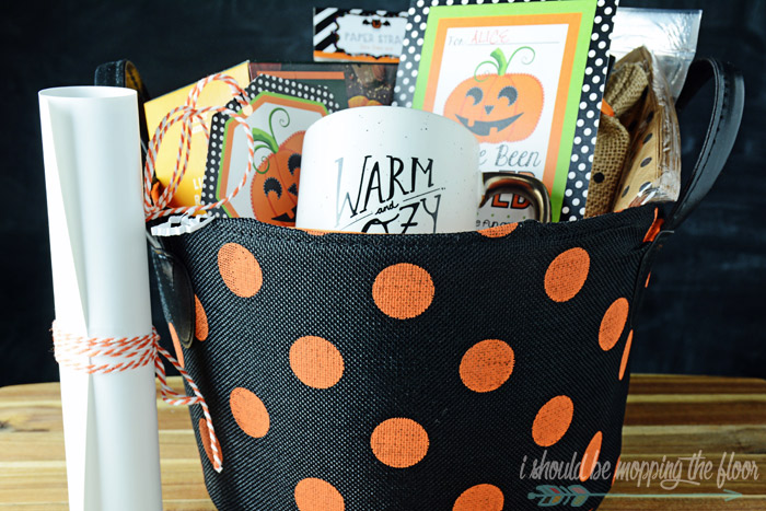 Printables for Boo Baskets