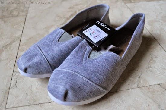 Zalora Jenna Slip Ons from Rubi - P799/P1200 for 2 pairs