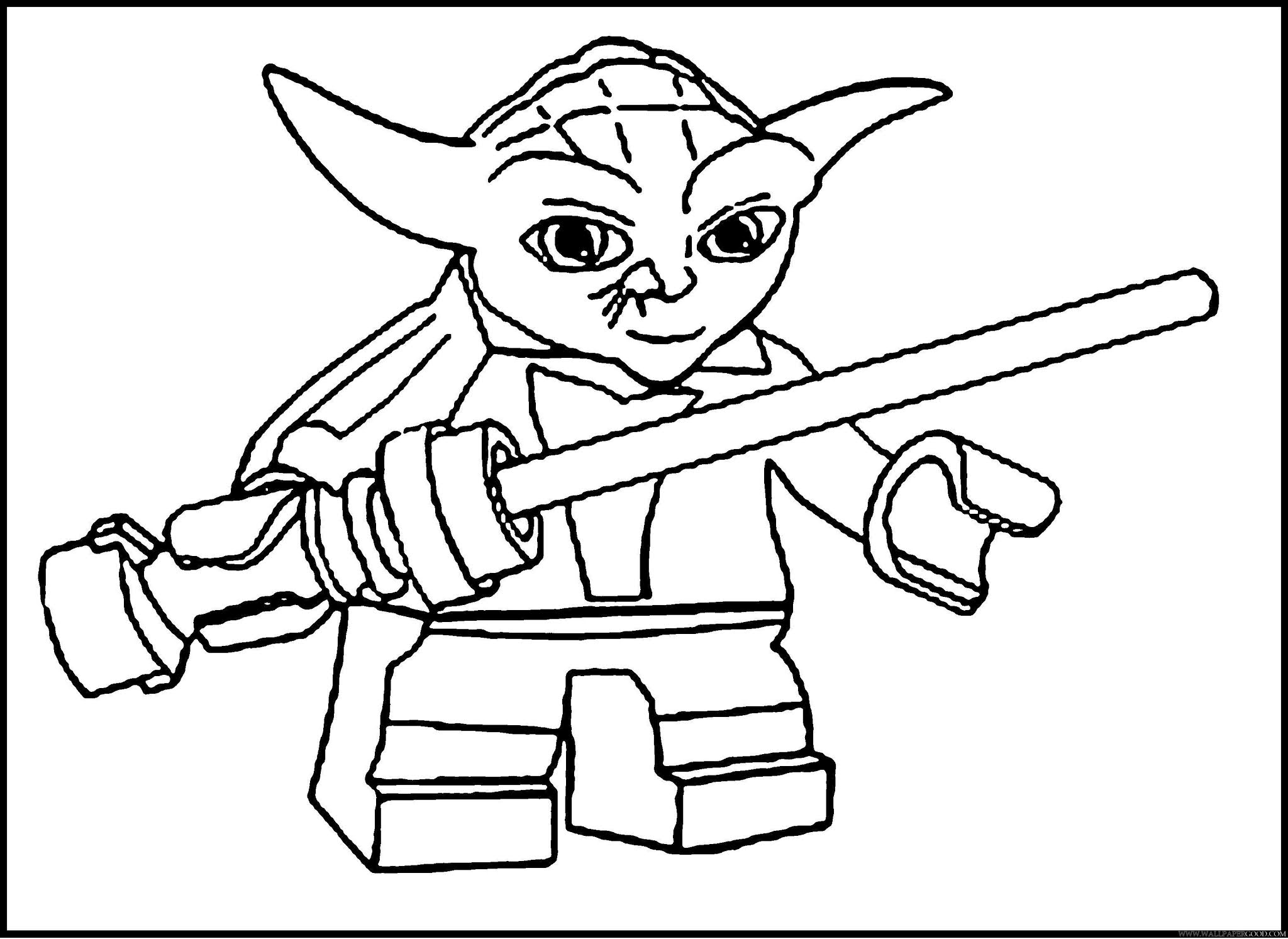 Free Printable Coloring Pages Lego Star Wars