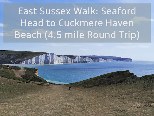 Sharing photos from our 4.5 mile walk along the cliffs from Seaford Head to Cuckmere Haven Beach