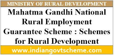 Schemes for Rural Development