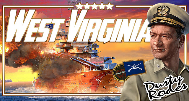 World of Warships West Virginia